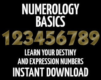 Numerology for Beginners, How to Numerology,  Numerology Intro, Book of Shadows Pages, Wicca, Witchcraft, New Age, BOS Page, Numerology Book