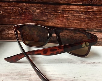 Tortoise Shell sunglasses - beautiful monogrammed sunglasses
