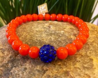 OKC thunder Jennifer bracelet