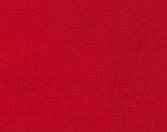 Fabric - Robert Kaufman- Kona solids - Tomato - cotton