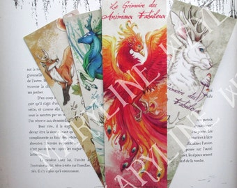 Fabulous lot of 4 animal bookmarks