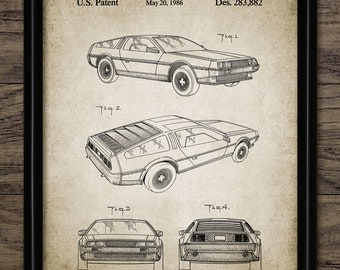 Sports Car Patent Print - 1986 British Car Design - Classic British Sports Car - Garage Machanic Gift - Single Print #424 - INSTANT DOWNLOAD