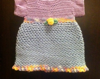 Baby Girl Dress, Baby Dress, Size 0 to 3 Months Size Dress