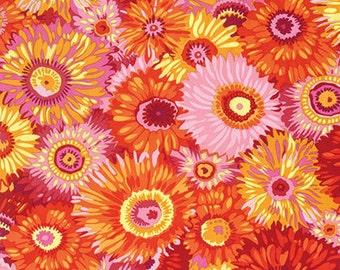 1/2 yard  Philip Jacobs Zany Hot Fabric PJ079