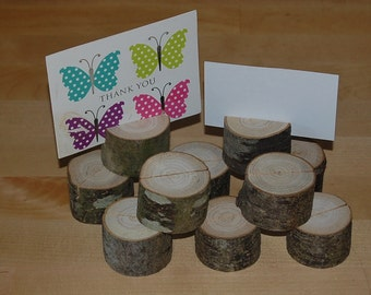 Wooden Wedding Table Place Name/Photo/Menu Holders/Shop/Stalls Etc X 15