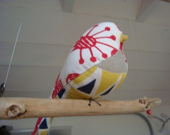 Bird mobile (small)handmade gift. Mothers day. Easter