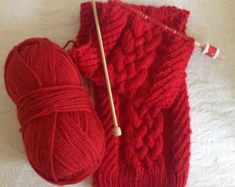 Knitting Kit - Celtic Braids and Twists