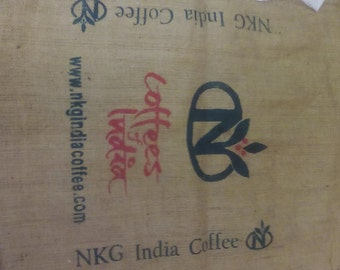 Coffee sack from around the world