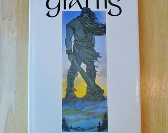 GIANTS Hardcover Book, 1976 - By David Larkin & Sarah Teale - 1979 Rufus Publications