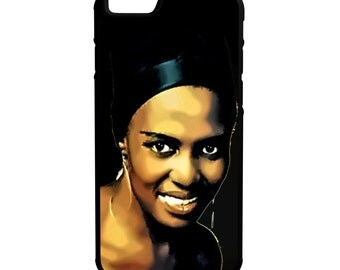 Mariam Makeba iPhone Galaxy Note LG HTC Hybrid Rubber Protective Case