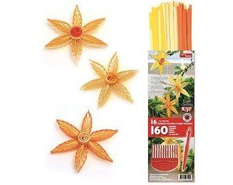 Quilling kit flowers