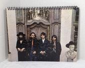 Beatles Hey Jude Handmade Vintage Record Cover Notebook Album Jacket Journal Ephemera || Unique Gift