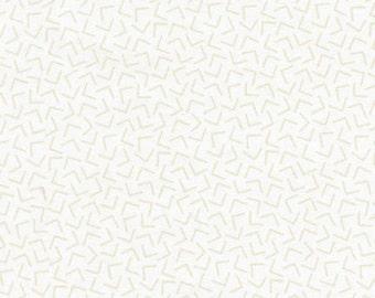 Whisper Prints 3 - Geo Blanc - Studio RK - Robert Kaufman (SRK-15872-303)