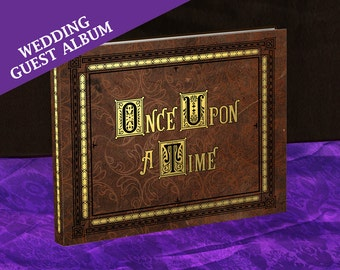 Henry's Once Upon A Time Storybook (inspired) - Fantasy Wedding Guest Album - Made To Order