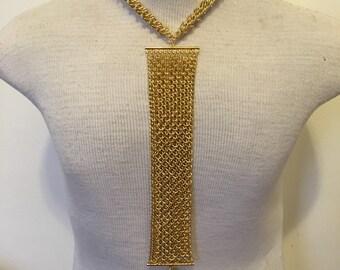 Gold Men's Body Chain