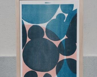 Shapes & Stories risograph print #3 by Studio Marije Pasman
