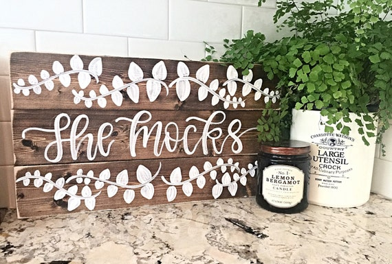 Rustic Home Decor Last Name Sign Custom Order