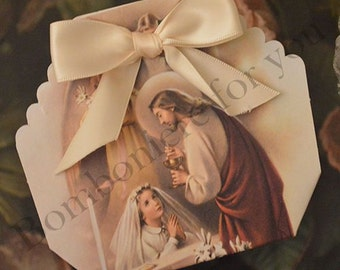 First Holy Communion Favor Box Made in Italy