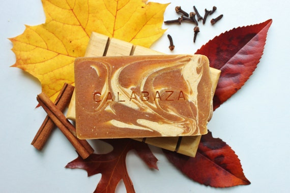 CALABAZA // Handmade // All Natural // Vegan // Seasonal // Pumpkin Spice // Soap