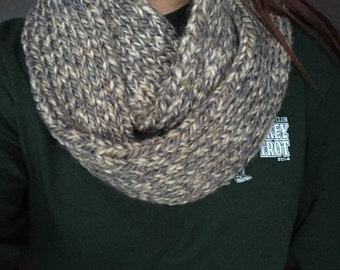 Patterened Infinity Scarves