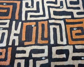 African Kuba Cloth/textile Kc022