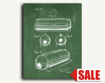 Patent Art - Vacuum Cleaner Patent Wall Art Print