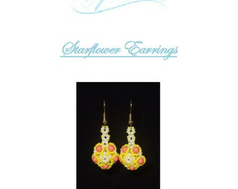 Starflower Earrings Tutorial
