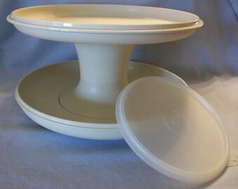 Vintage Tupperware Serve-It-All Set
