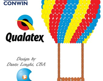 Big 3D Hot Air Balloon (15' tall)