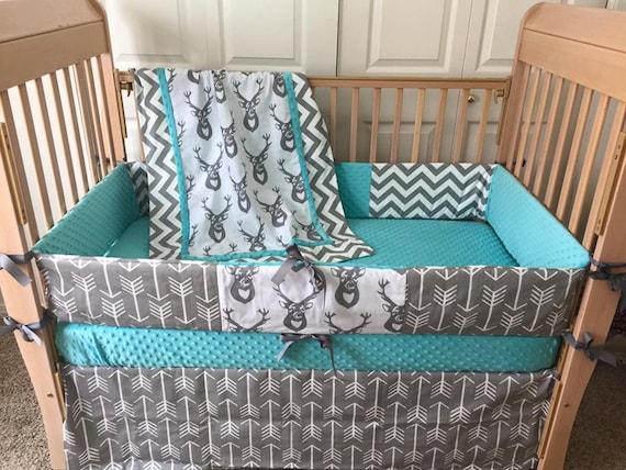 Deer Baby Bedding Set Deer Crib Set Arrow Baby Bedding Buck Crib By