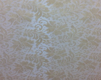 Antique Gold Lace Fabric by the yard, Delicate Lace Dress Fabric Bridesmaids, Wedding gown fabric, Gold Formal gown fabric, Princess Fabric
