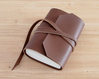 4X6 Brown, Handmade Leather Journal