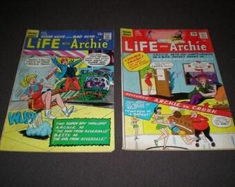 Life with Archie 45, 54, (1975-78), Archie Publications JK