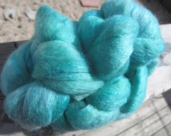 algae merino/camel/silk - hand dyed top (50g/1.7oz)