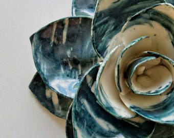 Dark turquoise lotus