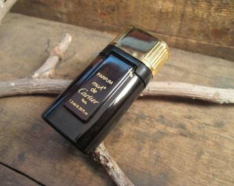 vintage parfum musk de cartier paris .25fl oz