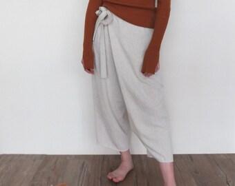 leni wrap trousers