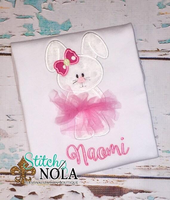 Easter shirt - Bunny TuTu