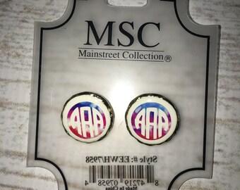 Personalized MS Earrings