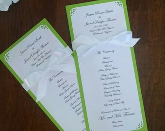 Personalized Wedding and Special Events Programs (20)