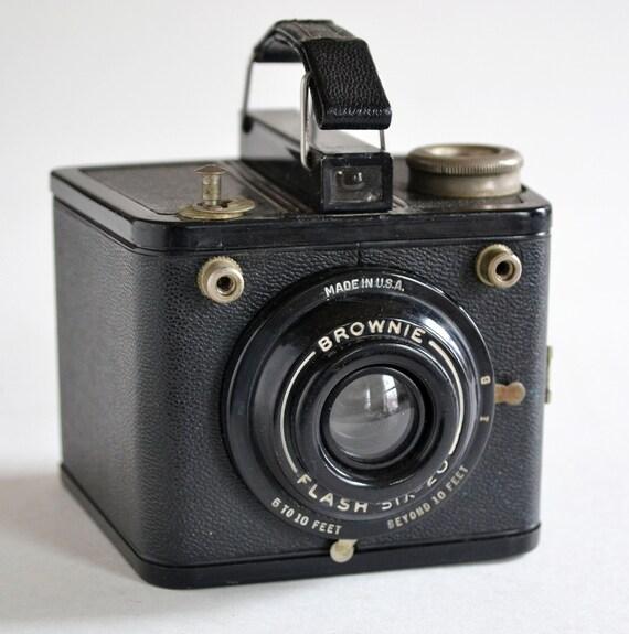 kodak brownie flash six 20 series vintage 620 camera. Black Bedroom Furniture Sets. Home Design Ideas