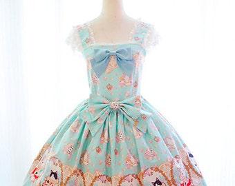 D049 Closet in Wonderland Jumper Skirt