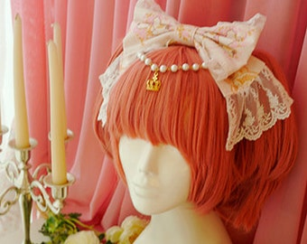 H093Closet in Wonderlan bow headband