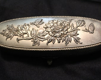 Vintage Metal Trinket Box