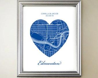 Edmonton Heart Map