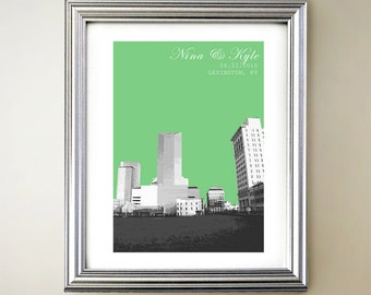 Lexington Personalized Cityscape