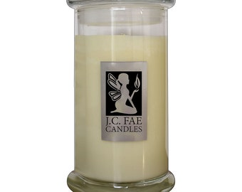 J.C. Fae Unscented Soy Wax Candle 21 oz