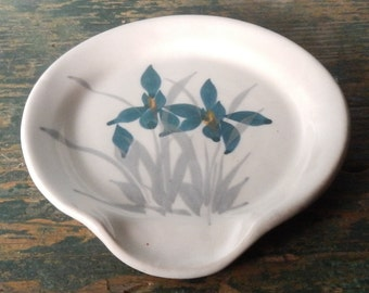 Handmade Pottery Spoon Rest!