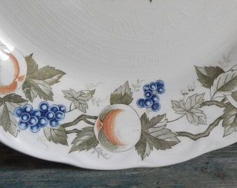Attractive Norleans Ironstone Serving Plate!