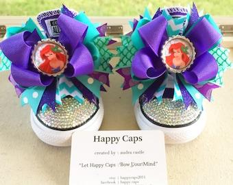 Little Mermaid Ariel Shoe Toppers